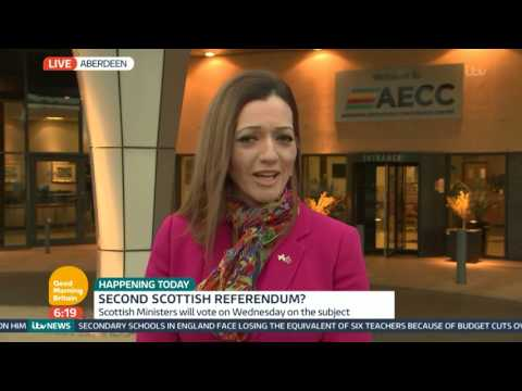 Tasmina Ahmed Sheikh Defends Possibility of Second Scottish Referendum | Good Morning Britain
