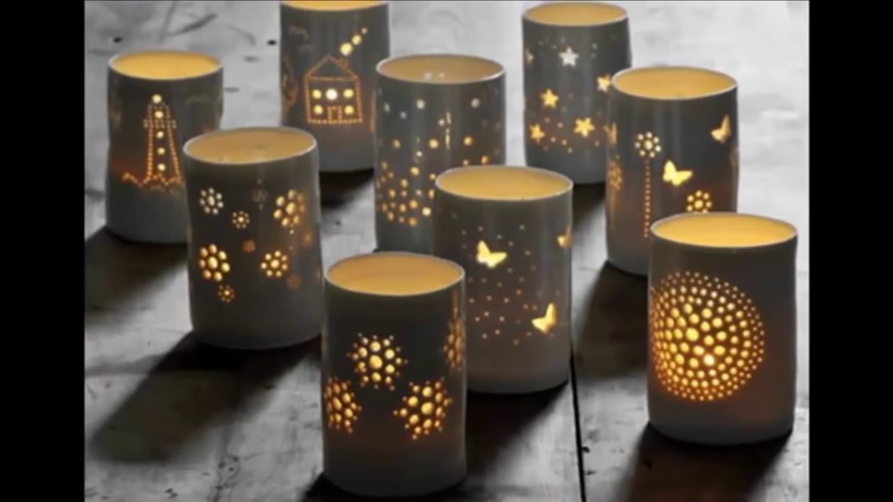 Unique creative ideas for best out of waste youtube for Decorative things from waste