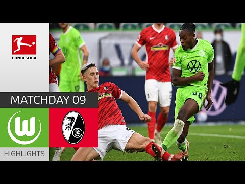 Wolfsburg Freiburg Goals And Highlights