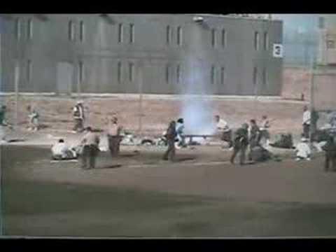 (NEW?) California Prison Riot