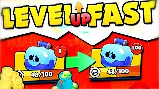 FASTEST way to LEVEL UP in Brawl Stars!