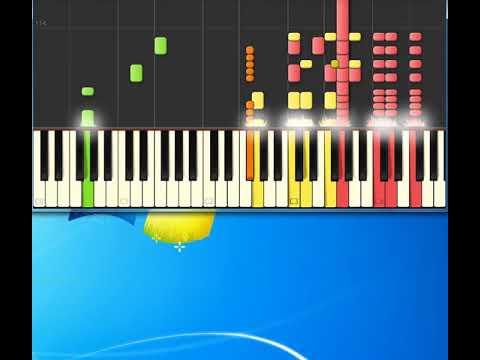 Don Hennley Dirty Laundry Synthesia Piano Piano Tutorial