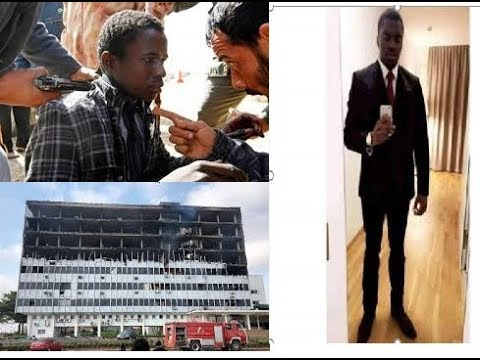 Slave trade in Libya; National Assembly burnt down; Grand theft Watch. FES News