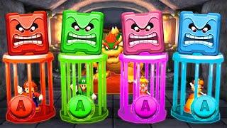 Mario Party The Top 100 MiniGames - Mario Vs Luigi Vs Yoshi Vs Wario (Master Difficulty)