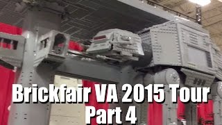 Brickfair VA 2015 Walkthrough Tour Part 4