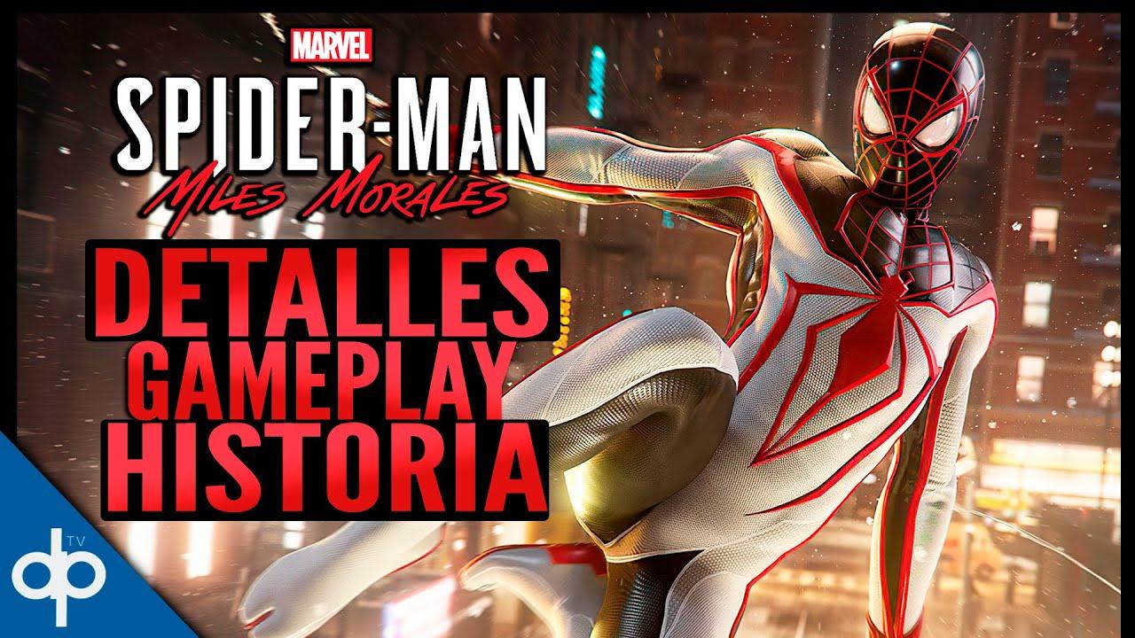 SPIDERMAN Miles Morales PS5 | Información, Historia, Gameplay | Gameplay en Español Comentado