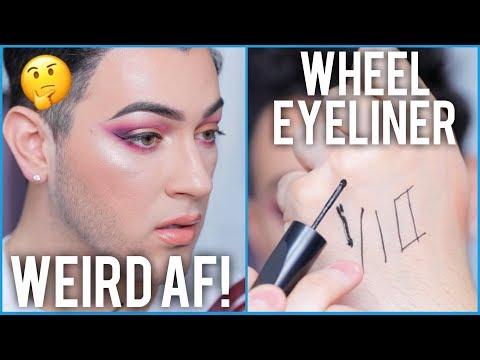 MAC Roller Wheel Pizza Cutter Eyeliner Tested... Honest AF Review!
