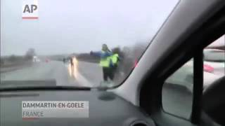 French Police Chase Terror Suspects - World News