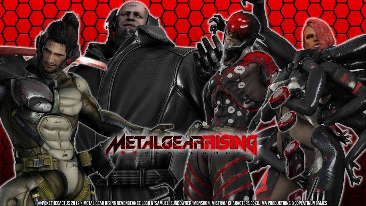 metal gear risingai mistral amp monsoon revengeance no