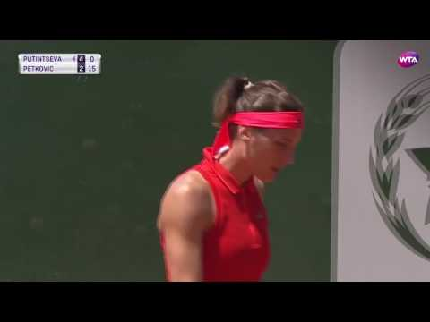 2017 Rabat Day 1 | Shot of the Day | Andrea Petkovic