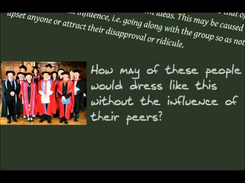 influences of conformity and obedience essay Conformity is a powerful social force that can influence our behavior for good and sometimes bad learn more about the psychology of conformity.