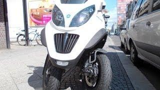 Piaggio MP3 3-wheel scooter