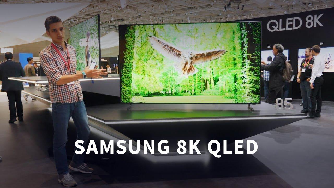 Смотрим первый 8K QLED телевизор от Samsung