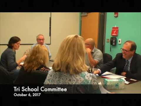 Tri School Committee 10.06.17