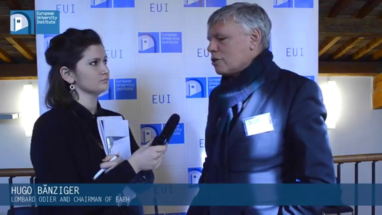 EUI Interviews: Hugo Bänziger, Lombard Odier and chairman of eabh