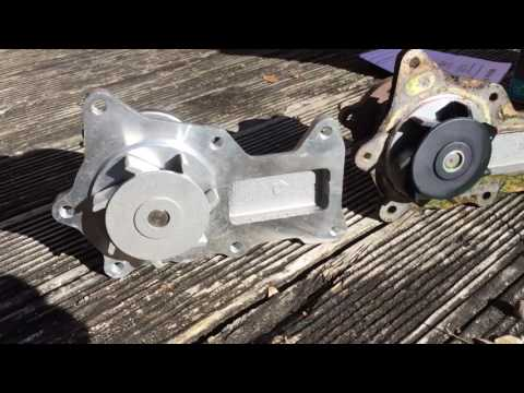 How to replace Jeep JK Water Pump DIY