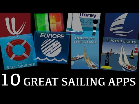 10 GREAT SAILING APPS  -  Sailing SV Compromise