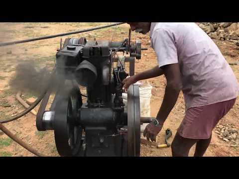 Field Marshal 8 HP Diesel Engine Startup