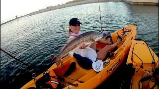 30milesOut.com ~ PACKERY CHANNEL kayak fishing corpus christi tx