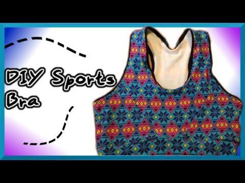 DIY Sports Bra ~ Sewing w/ Scraps