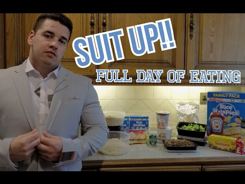 SUIT UP!! ITS A FULL DAY OF EATING | #PREPSERIES
