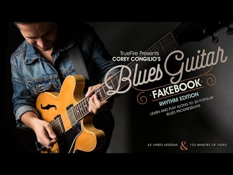 Blues Guitar Fakebook: Rhythm - Intro - Corey Congilio