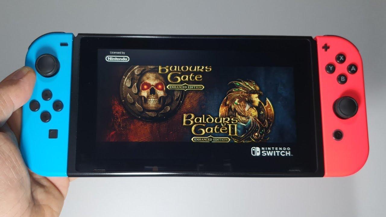 Baldur S Gate And Baldur S Gate Ii Enhanced Editions Nintendo Switch