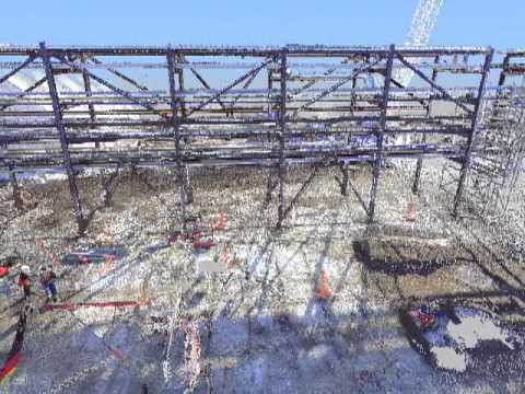 Piperack Flythrough - Canadian Oil and Gas