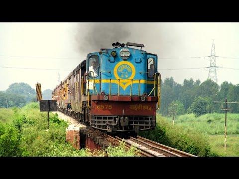 The Lost Glory of a Heavenly Past - Pilibhit Kasganj METRE GAUGE Line : Indian Railways