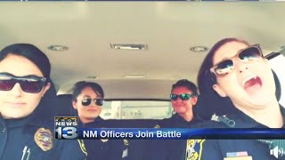 NM law enforcement officials join lip sync video trend