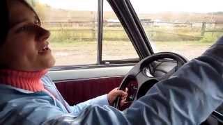 Семья Бровченко. Жена учится водить машину )))(Без комментариев ))) Так же смотрите все видео - ролики на тему