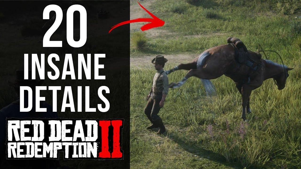 Download 20 INSANE Details in Red Dead Redemption 2 (Part 1)