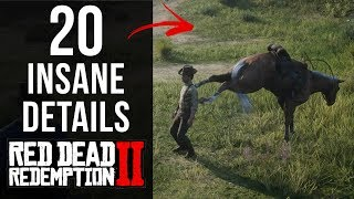 20 INSANE Details in Red Dead Redemption 2 (Part 1) thumbnail