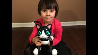 У нас появился интерактивный робот кошка Zoomer Kitty