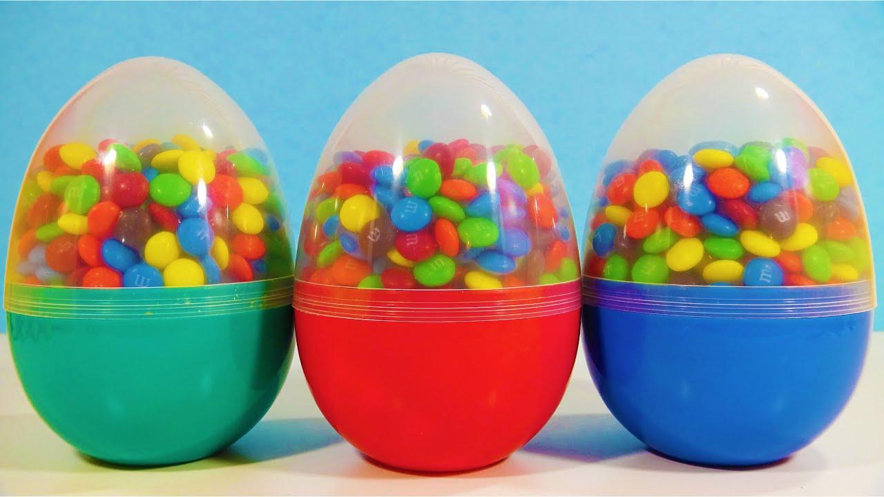 M&M s Surprise Egg Toys My Little Pony Squishy Pops SpongeBob Squarepants Dr.Seuss Blind Bags ...