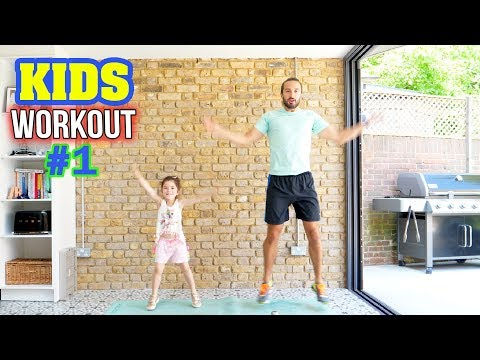 Kids Beginners Workout | The Body Coach