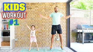 Kids Beginners Workout | The Body Coach