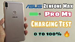 Asus Zenfone Max Pro M1 Battery Charging Test ⚡in 2021    Ittna Time Kyu🤪