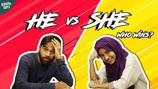 He VS She | Hyderabadi Comedy | Kantri Guyz