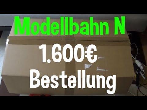 Modellbahn 1600€ UNBOXING