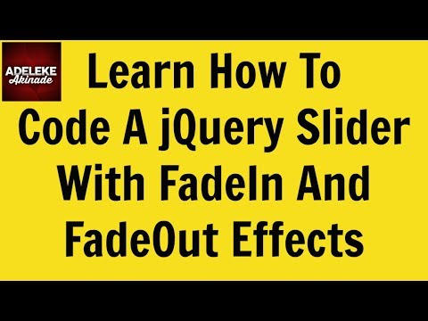 Learn How To Code A Responsive jQuery Slider With FadeIn ...