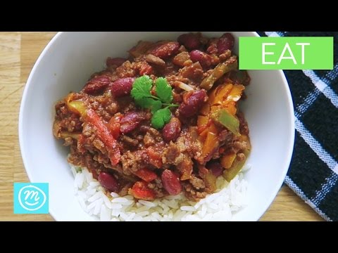 Turbo Fast Chilli Con Carne With Chocolate From Channel Mum | Ad