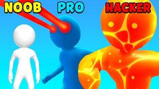 NOOB vs PRO vs HACKER - Heroes Inc screenshot 3