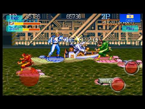 Captain Commando Stage 5 Sea Port - Captain Commando Character - Capcom Arcade Game 1991
