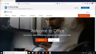 How to get Microsoft Office for Free From Microsoft