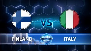 Nexus Games Europe - Group A Match 1 – Finland vs. Italy - Game 1