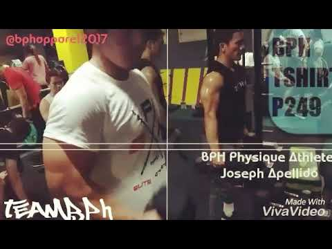 PINOY PHYSIQUE CHAMPION | Arm Workout @ Blackout Fitness Gym Manila