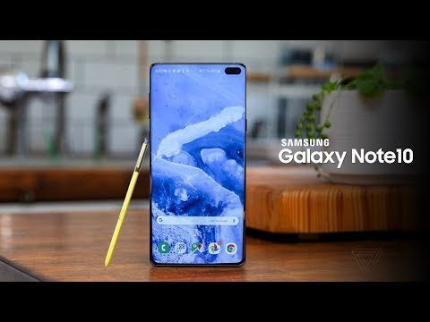 Samsung Galaxy Note 10 - ONE BIG CHANGE