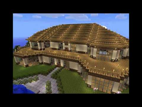 top 10 minecraft houses - YouTube