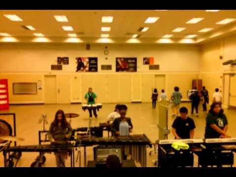 Sam Brannan Middle School Drumline 2014